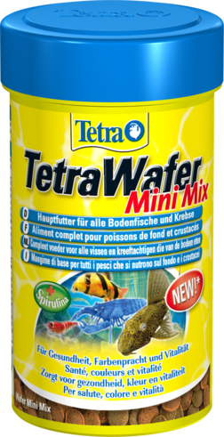 Корм для рыб TetraWafer Mini Mix 100мл