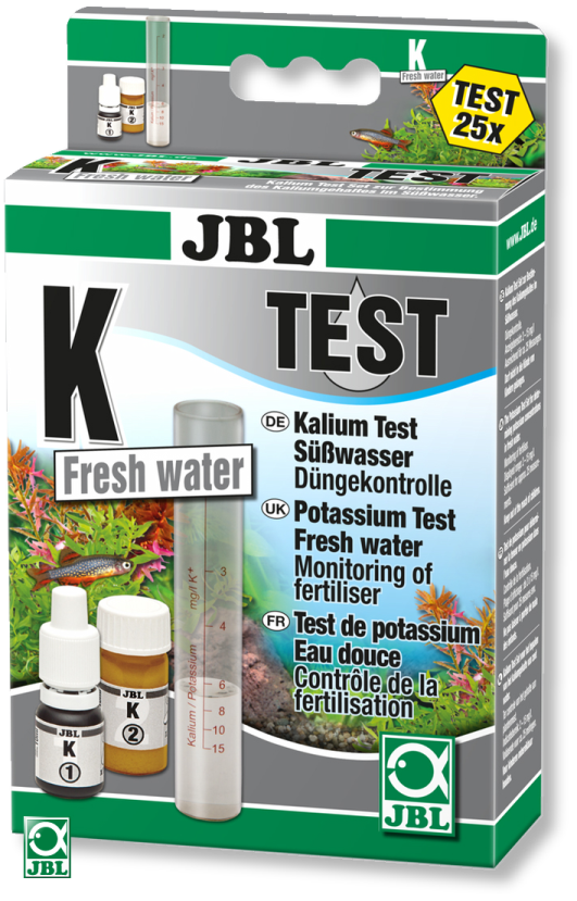 Тест для воды JBL K Potassium Test-Set