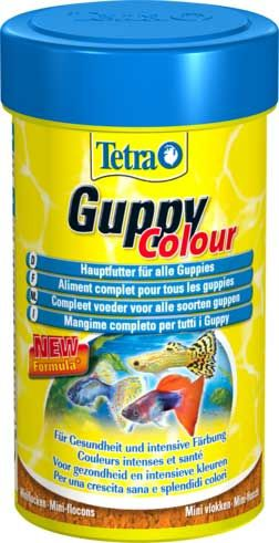 Корм для рыб Tetra Guppy Colour 100мл