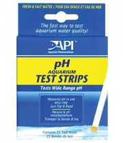 Тест API рH Aquarium Test Strips