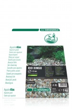 Грунт Dennerle Nature Gravel PlantaHunter Rio Xingu MIX 5кг 2-22мм