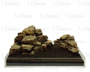 Камень UDeco Fossilized Wood Stone MIX SET 15