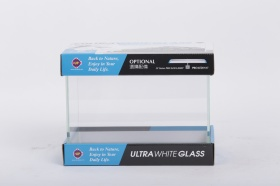 Аквариум UpAqua Crystal Glass Tank S 26 9л