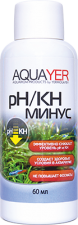 Кондиционер Aquayer pH/KH минус 60мл